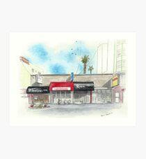 Restaurants on Balboa Art Print