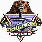 SSN-781 USS California by Nikki SpaceStuffPlus