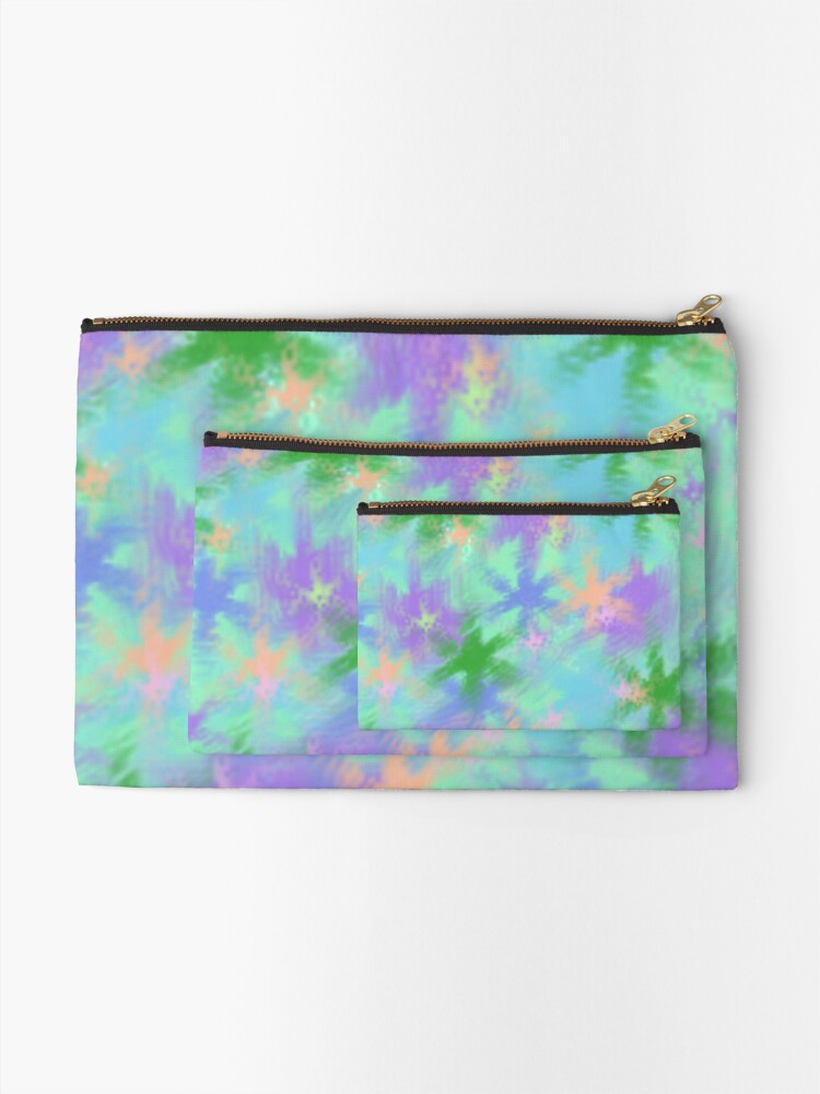 Alternate view of Colour Mashup Zipper Pouch