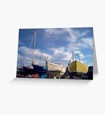 Lossiemouth display Greeting Card