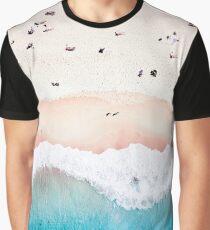 Luft Sandstrand Grafik T-Shirt