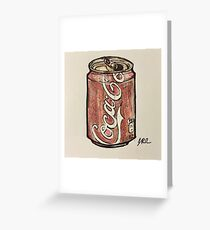 cocacola  Greeting Card