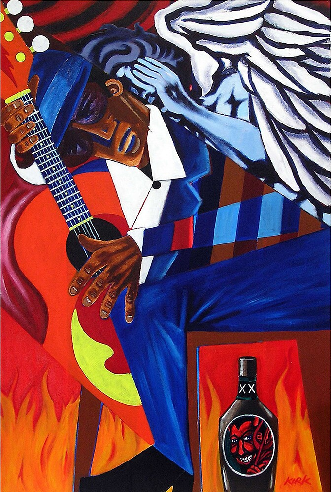 'These Blues (Can Make Angels Weep)' by Jerry Kirk