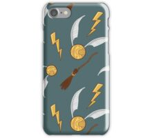 Snitches and Quidditch iPhone Case/Skin