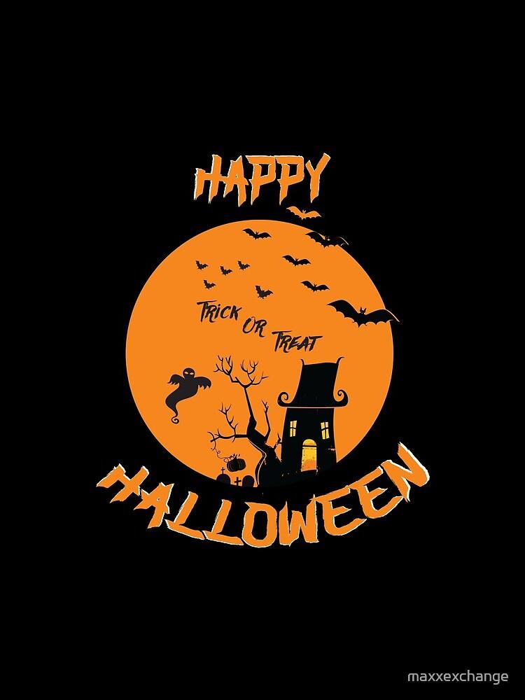 Spooky Scene Halloween Scene Scary Scene Tree. 3 by maxxexchange