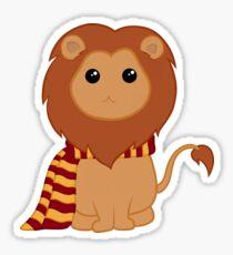 Fierce little lion Sticker