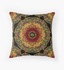 KALEIDOSCOPE SWIRL DECORATIVE PILLOW Throw Pillow