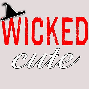 Wicked Cute with Witch Hat by Greenbaby