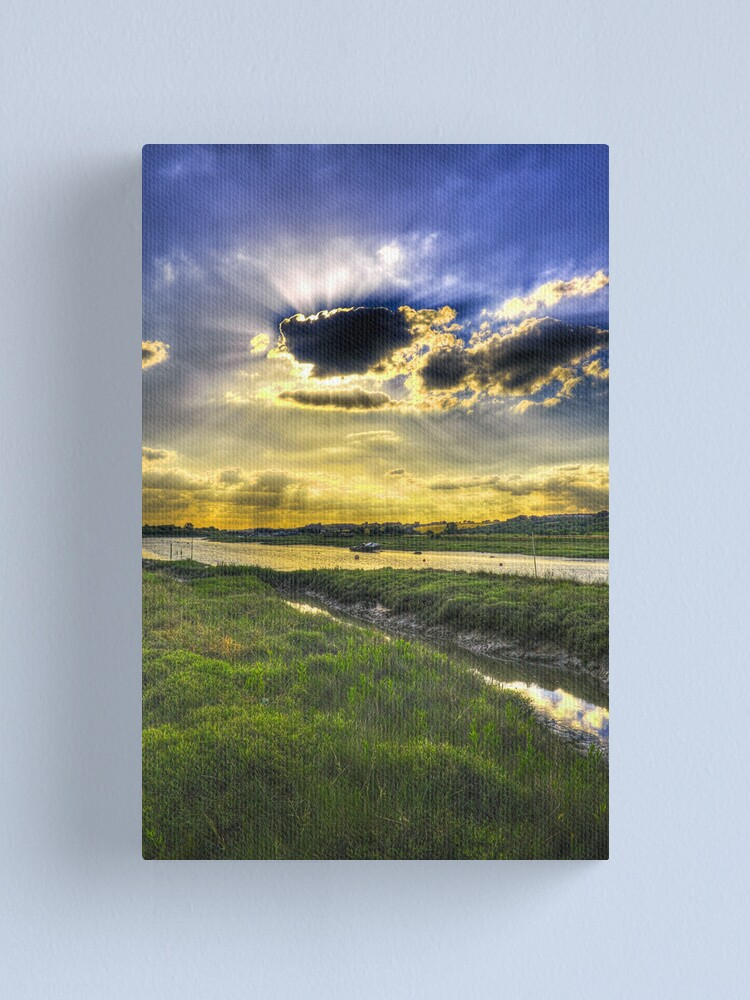 Alternate view of Here Come's the Sun Canvas Print