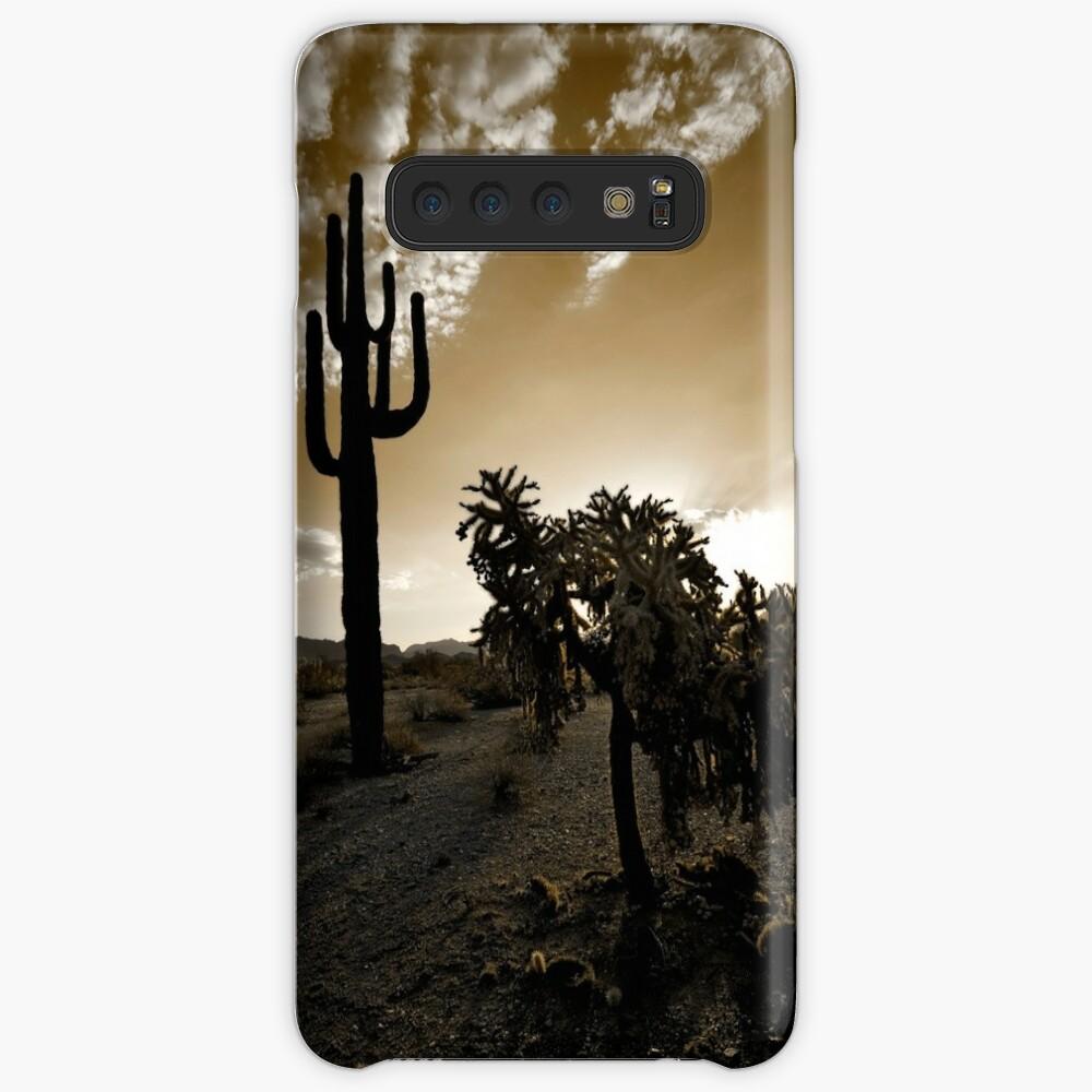 The Sonoran in Sepia Samsung Galaxy Snap Case
