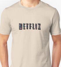 Floral Netflix  Unisex T-Shirt