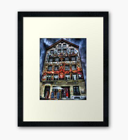 Where Wizards Dine (aka Restaurant Fritschi) Framed Print