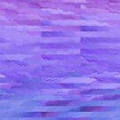 Purple Daydream Watercolor Pattern by blueskywhimsy