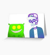 Feed Me & Kill The Noise Greeting Card