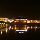 Barnstaple by night by Mark Langworthy