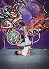 Pinup Bike Polo Cutie #9 by Jennifer Kutzleb