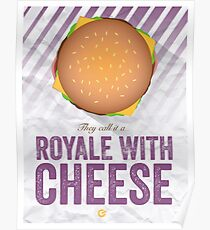 Royale With Cheese - Pulp Fiction Poster