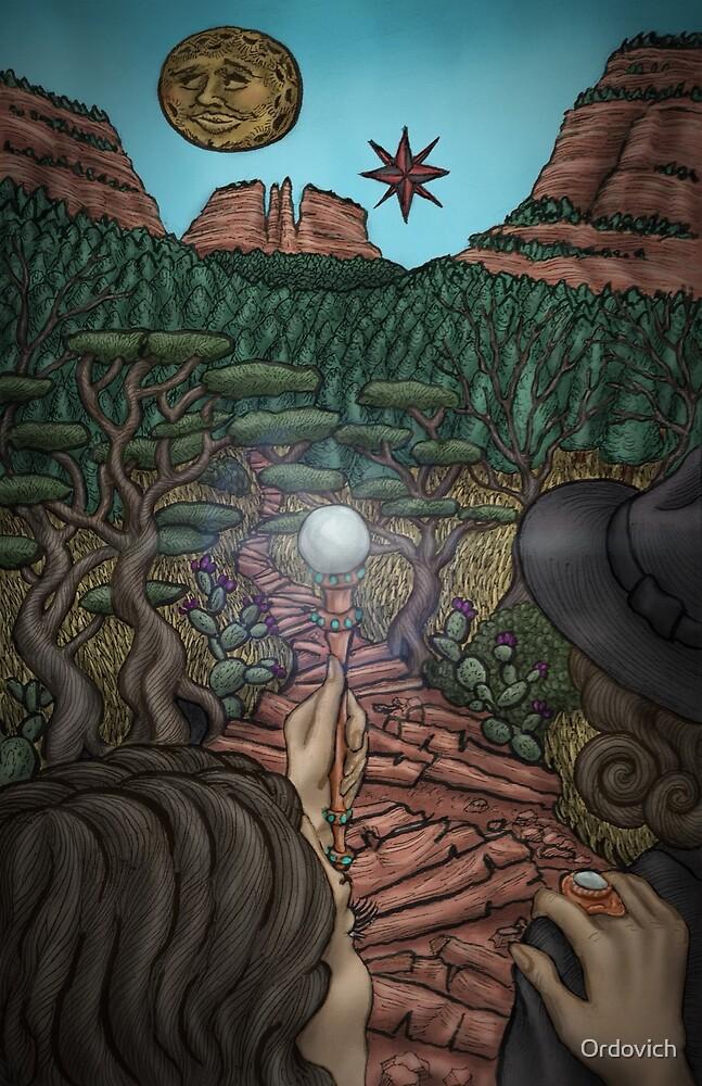 She Illuminates the Path by Ordovich by O von Ordovich