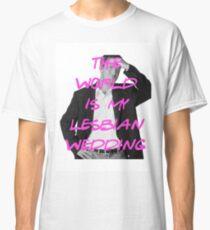 Lesbian Wedding Classic T-Shirt
