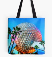 Spaceship Earth at Dusk Tote Bag