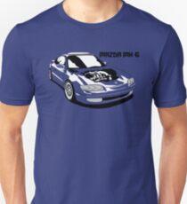 Mazda MX-6 (Model Name, Right) Unisex T-Shirt