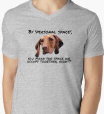 Velcro Vizsla Men's V-Neck T-Shirt