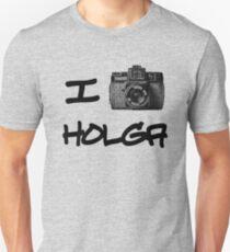 I Love Holga Unisex T-Shirt