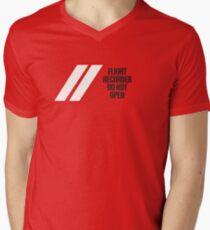 Flight Recorder Men's V-Neck T-Shirt