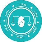 Libra - Teal by kylacovert