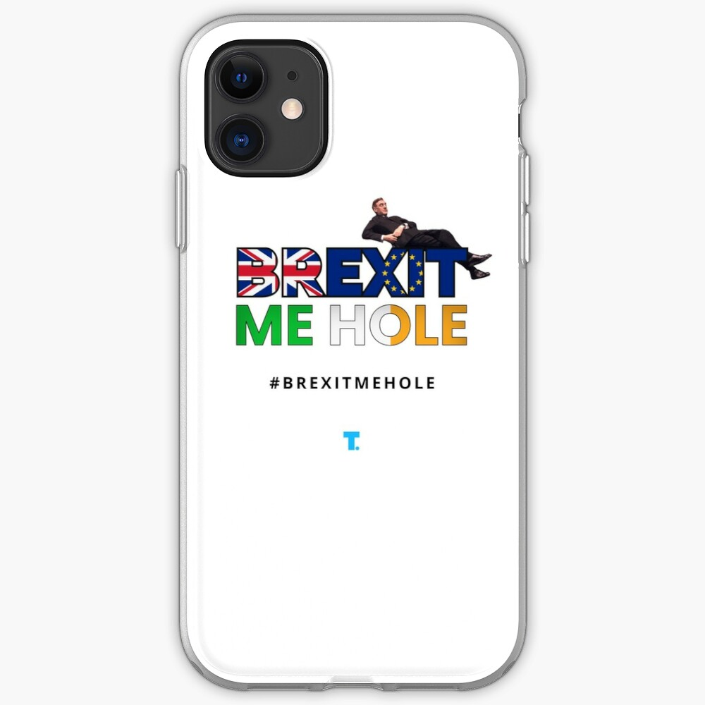 Trendster #BrexitMeHole Artwork iPhone Case & Cover