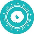 Leo - Teal by kylacovert