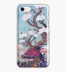 Journeying Spirit (deer) iPhone Case/Skin