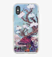 Journeying Spirit (deer) iPhone Case