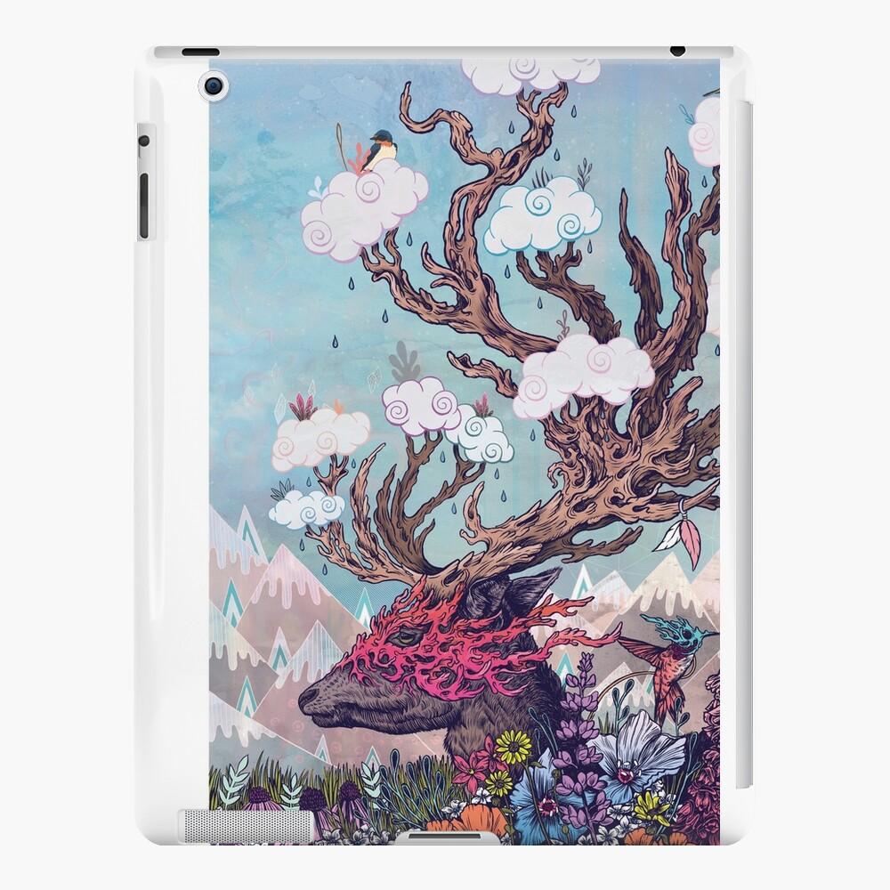 Reisegeist (Hirsch) iPad-Hüllen & Klebefolien