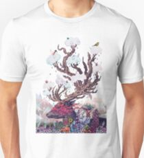 Journeying Spirit (deer) Unisex T-Shirt