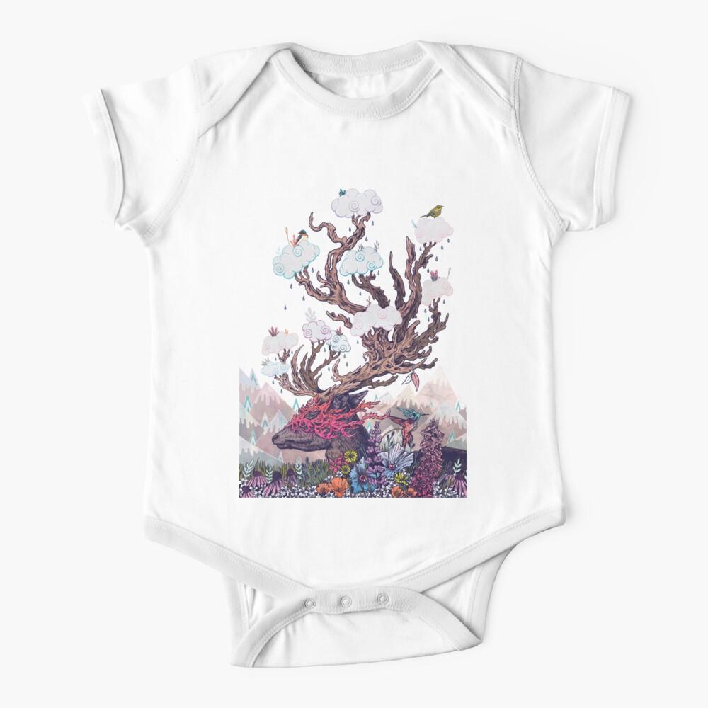 Espíritu de viaje (ciervos) Body para bebé
