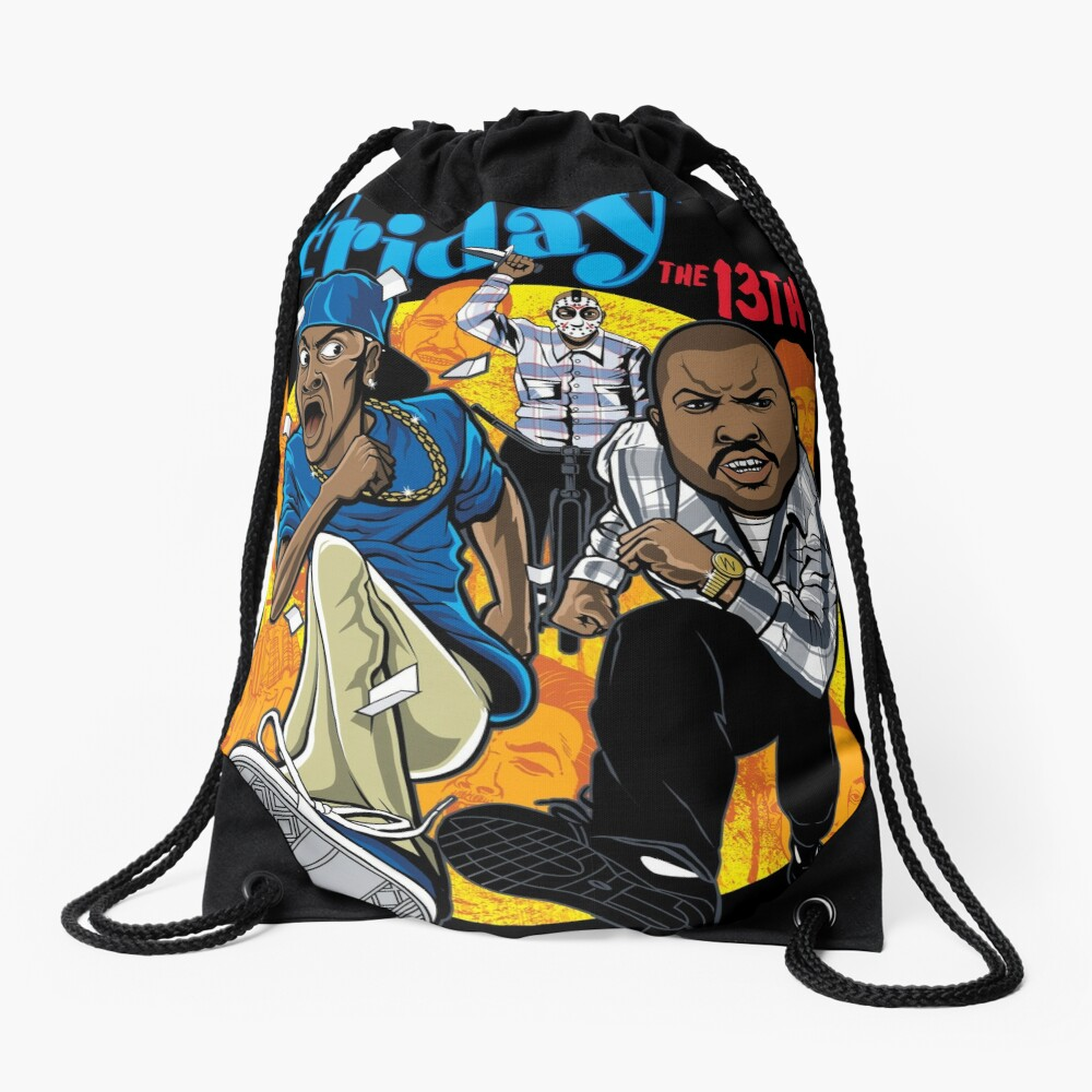 Friday the 13th Drawstring Bag