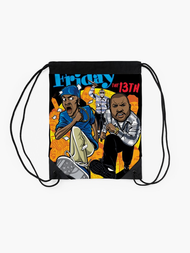 Alternate view of Friday the 13th Drawstring Bag