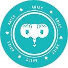 Aries - Teal by kylacovert