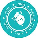 Pisces - Teal by kylacovert