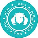 Cancer - Teal by kylacovert