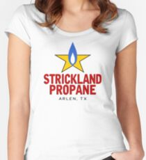 Strickland Uniform Women's Fitted Scoop T-Shirt