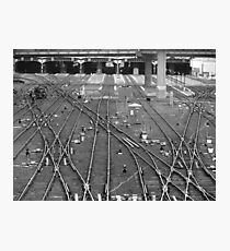 'A Fine Line' - Toronto Union Station Photographic Print