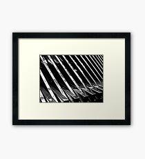 Chrome Ribbed - By. Jonny McKinnon Framed Print