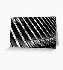 Chrome Ribbed - By. Jonny McKinnon Greeting Card