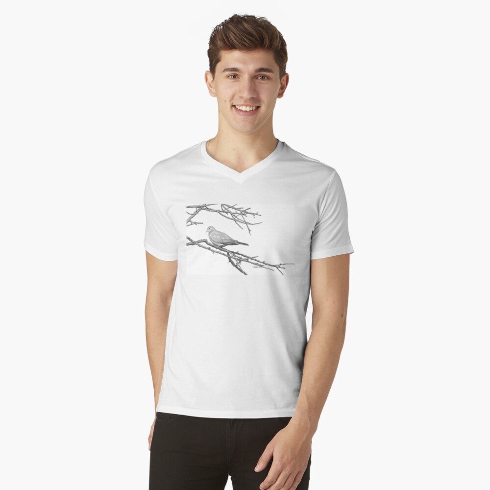 Why would you leave me...? V-Neck T-Shirt