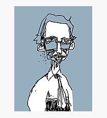 the underground cartoonist Photographic Print