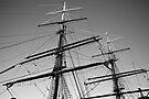Tall Ship Masts by Extraordinary Light