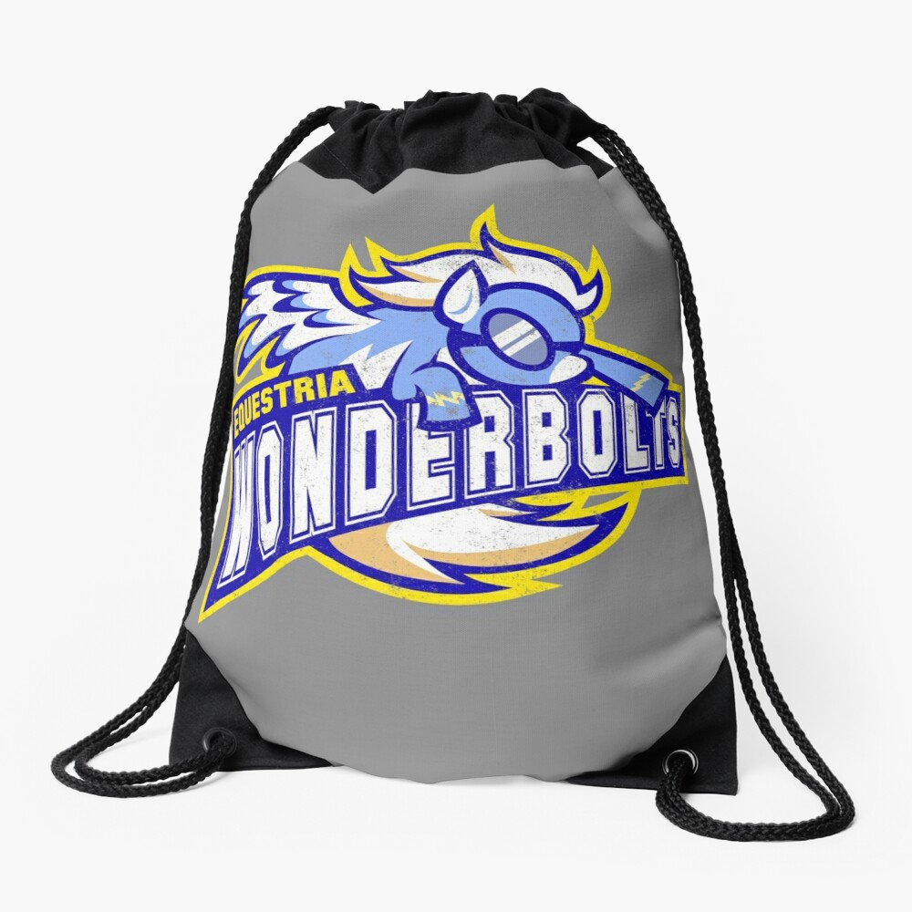 Wonderbolts Drawstring Bag