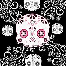 Ornate Skull  by Concetta Kilmer